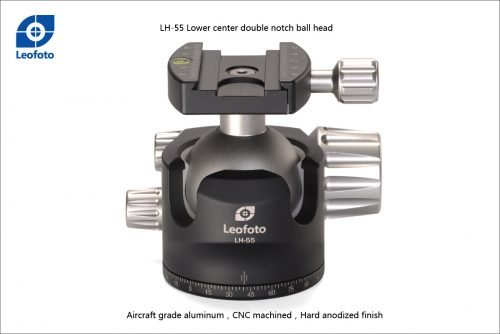 LH-55 +QP-70 Ball Head (Arca Swiss compatible Plates)