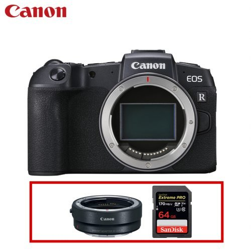 Canon EOS RP BODY ONLY (FREE GIFT 64GB SD CARD + EF-R Adapter)