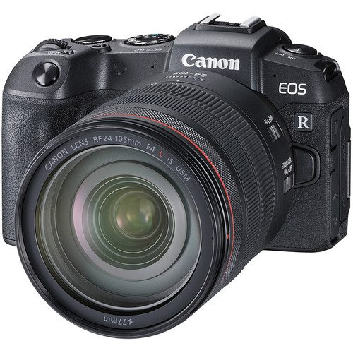 Canon EOS RP with RF24-105mm Lens (FREE GIFT 64GB SD CARD + EF-R Adapter + EXTRA BATTERY)