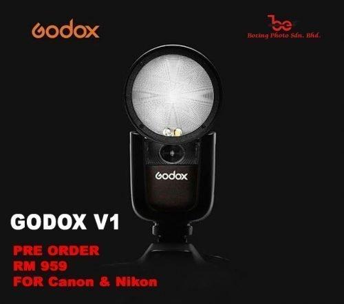 GODOX V1 – ROUND HEAD (DEPOSIT RM300)