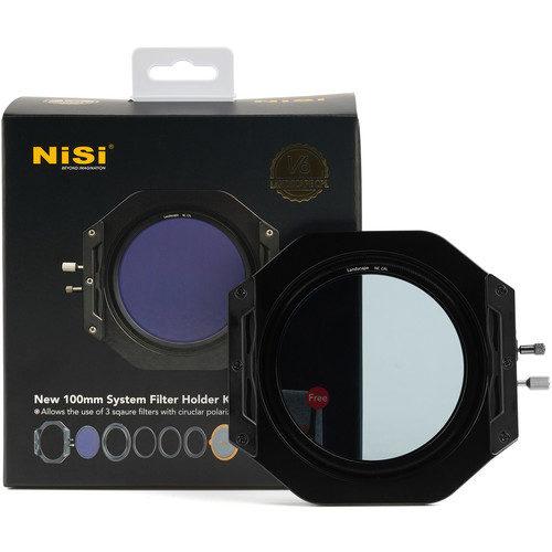 NiSi V6 100mm Filter Holder Kit with Landscape CPL Filter