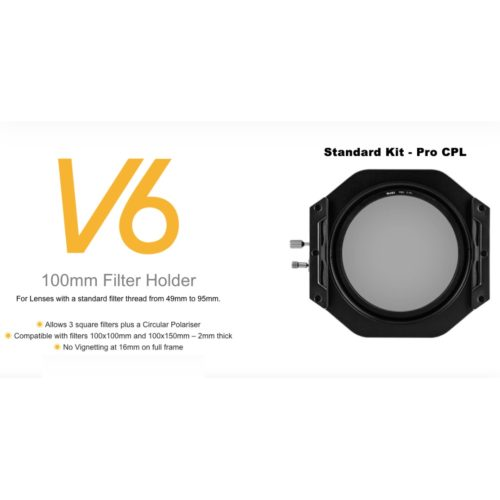 NiSi V6 100MM FILTER HOLDER W/ Pro CPL