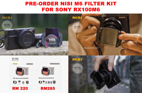 NiSi M6 Filter Kit for Sony RX100VI (Starter Kit)