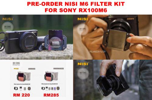 NiSi M6 Filter Kit for Sony RX100VI (Starter Kit)