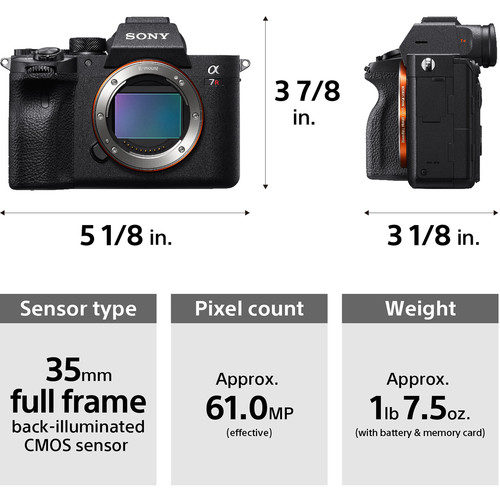Sony Alpha a7R M4 Mirrorless Digital Camera (Body Only)
