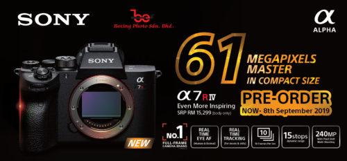 [PRE-ORDER] Sony Alpha a7R M4 Mirrorless Digital Camera (Body Only) (DEPOSIT RM500)