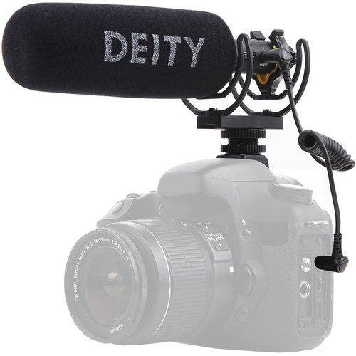 Deity Microphones V-Mic D3 Supercardioid On-Camera Shotgun Microphone with Rycote Suspension
