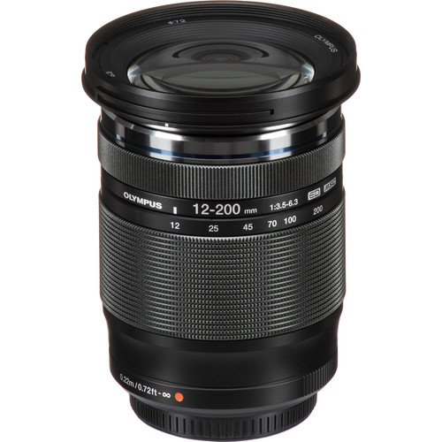 Olympus M.Zuiko Digital ED 12-200mm f/3.5-6.3 Lens (PRICE AFTER RM400 CASH REBATE)