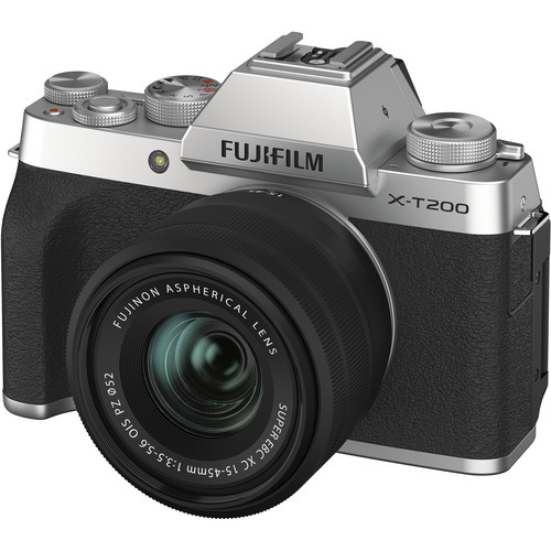 FUJIFILM X-T200 with 15-45mm Lens (FREE 32GB SD CARD) Mirrorless Digital Camera