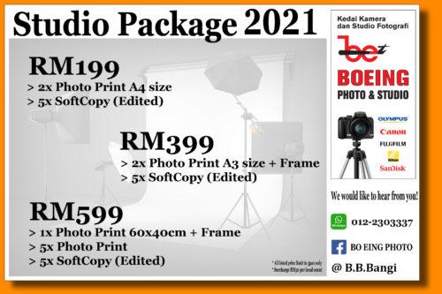 Studio Package 2021 – (Family, Portfolio, Convocation, Couple, etc…)