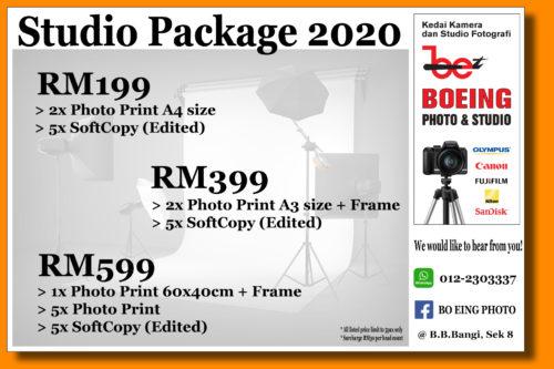 Studio Package 2020 – (Family, Portfolio, Convocation, Couple, etc…)