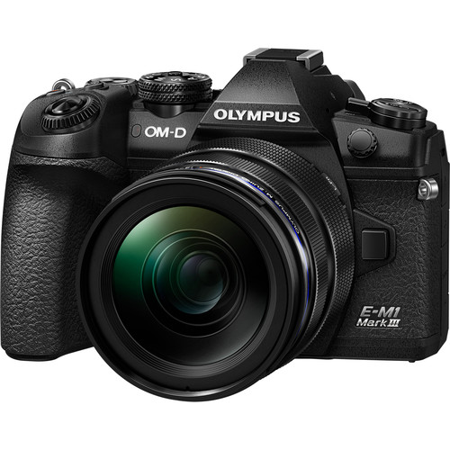 Olympus OM-D E-M1 Mark III (BLACK) (FREE 64GB SD CARD)