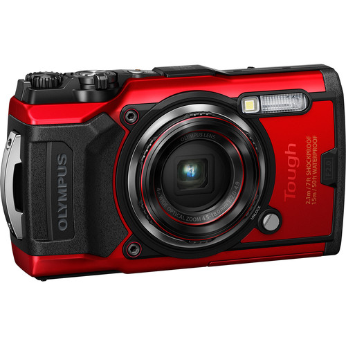 (SPECIAL) Olympus Tough TG-6 + PT-059 Underwater Housing (Black) (FREE 32GB SD CARD, EXTRA BATTERY, CAMERA CASE)