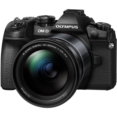 Olympus OM-D E-M1 Mark II with 12-200mm Lens Kit (BLACK) (FREE 64GB SD CARD)