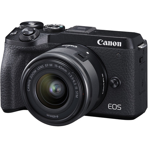 Canon EOS M6 Mark II PACKAGE (FREE 32GB SD CARD and CAMERA BAG)