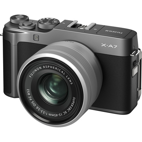FUJIFILM X-A7 with 15-45mm Lens (FREE GIFT 32GB SD CARD and CAMERA BAG)