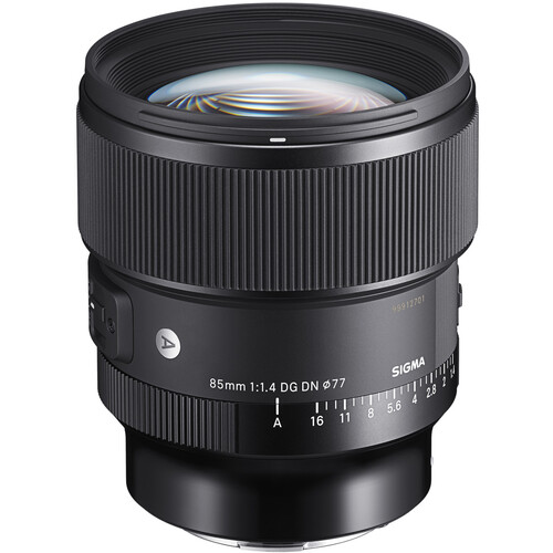 (PRE-ORDER) Sigma 85mm f/1.4 DG DN Art Lens (FOR SONY FE AND LEICA L MOUNT)