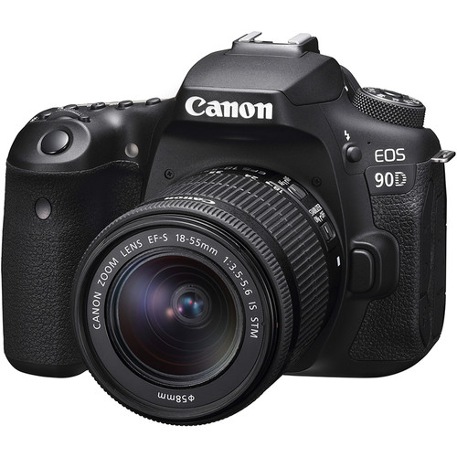Canon EOS 90D DSLR Camera (FREE GIFT 32GB SD CARD + CAMERA BAG)