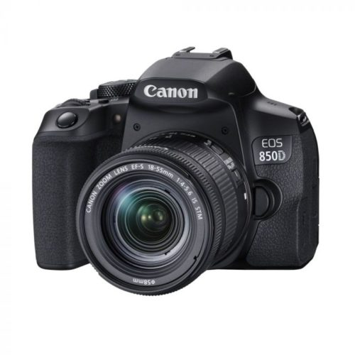 Canon EOS 850D DSLR Camera with EF-S 18-55mm f/3.5-5.6 IS STM Lens (Free Gift 32GB SD CARD + CAMERA BAG)