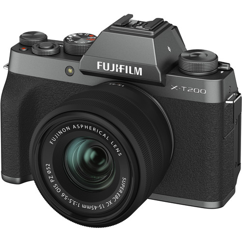 (STUDENT PROMO) FUJIFILM X-T200 with 15-45mm Lens (FREE 32GB SD CARD) Mirrorless Digital Camera