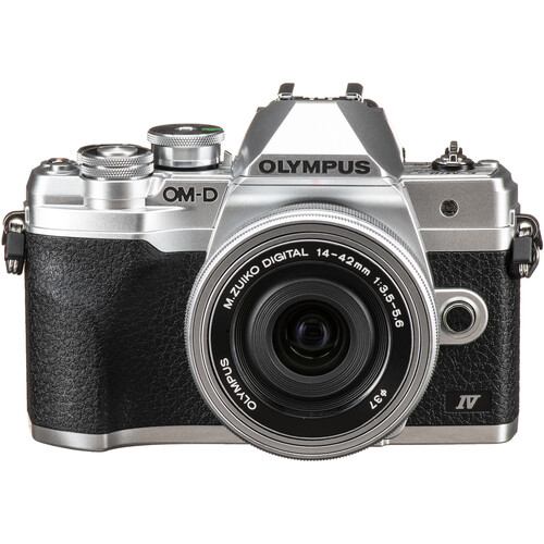 Olympus OM-D E-M10 Mark IV (14-42mm f/3.5-5.6 EZ) PACKAGE (FREE 32GB SD CARD)