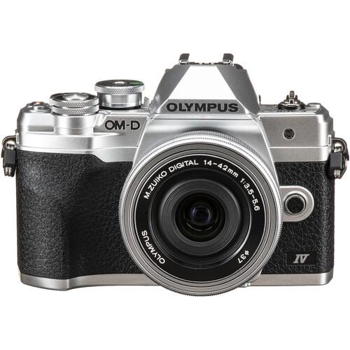 Olympus OM-D E-M10 Mark IV (14-42mm f/3.5-5.6 EZ) PACKAGE (FREE 32GB SD CARD)