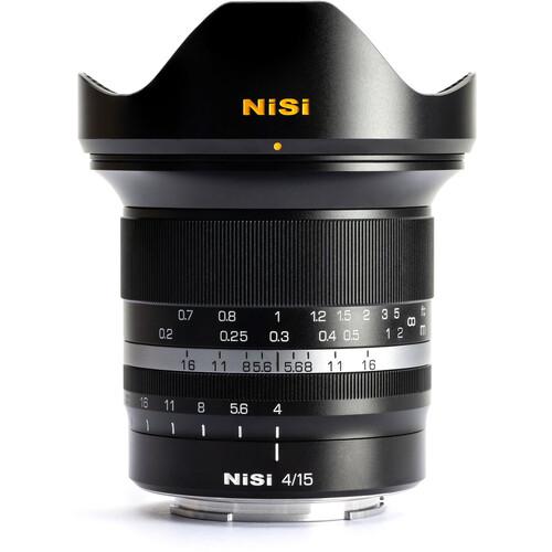 NiSi 15mm f/4 Sunstar Wide Angle Full Frame (For SONY E / NIKON Z / Canon RF)