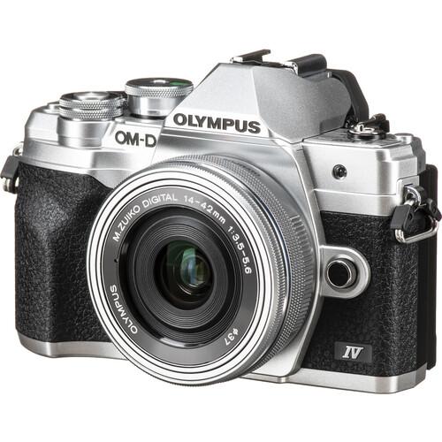 Olympus OM-D E-M10 Mark IV PACKAGE (FREE 32GB SD CARD)