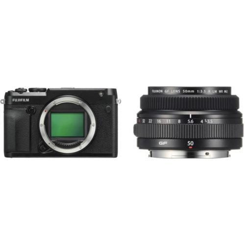FUJIFILM GFX 50R with 50mm Lens Kit (FREE 32GB UHS-II)