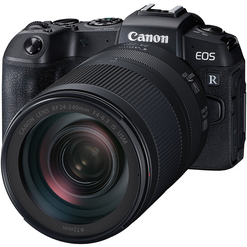 Canon EOS RP with RF24-240mm f/4-6.3 IS USM Lens (FREE 32GB CARD, CAMERA BAG)