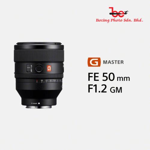 (PRE-ORDER) Sony FE 50mm f/1.2 GM Lens (Deposit RM500)