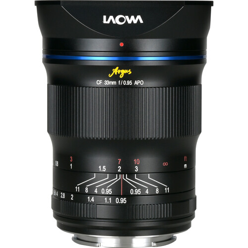 Laowa Argus 33mm f0.95 CF APO MF Lens FOR (APSC) (Mount Fuji X / Sony FE / Nikon Z / Canon R)
