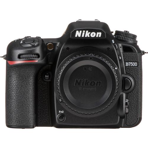 Nikon D7500 DSLR Camera (Free Gift 64GB SD Card + Camera bag)