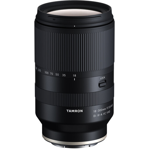 (PRE-ORDER) Tamron 18-300mm f/3.5-6.3 Di III-A VC VXD Lens (For Sony E,Fujifilm X)