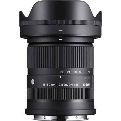 PRE-ORDER Sigma 18-50mm f/2.8 DC DN Contemporary Lens for Sony E / Leica L mount (FREE Sigma protector 55mm filter)
